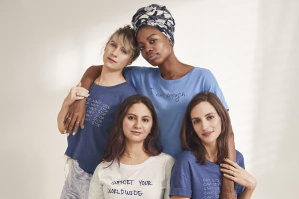 "Gap's ""forever favorite"" slogan t-shirts for International Women's Day 2019"