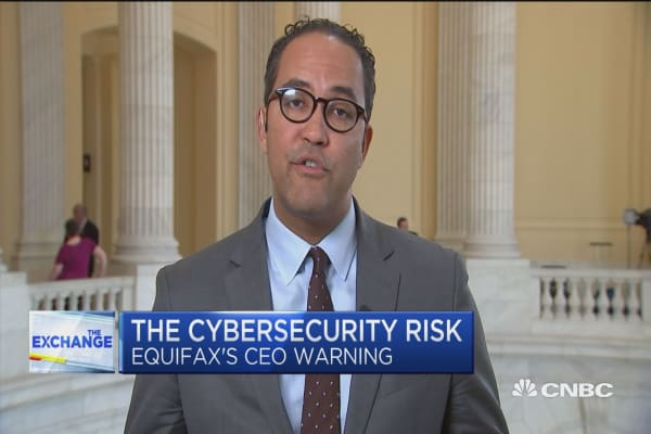 Rep. Will Hurd on Marriott-Equifax and the border emergency