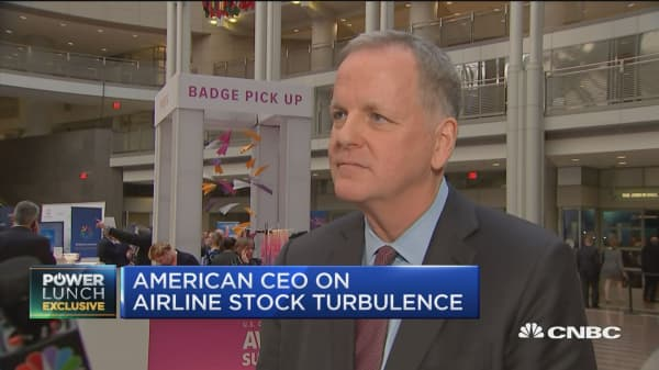 American Airlines CEO: Demand for air travel strong globally, domestically