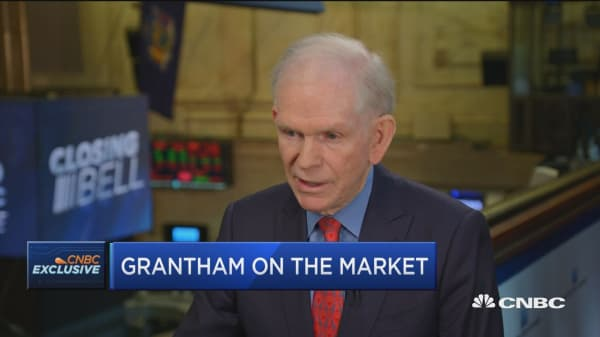 Grantham: I would stay away from the US