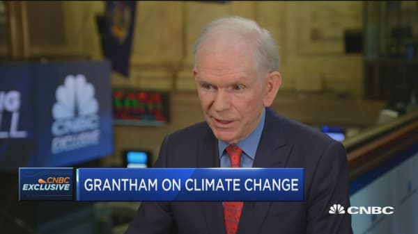 No company is doing enough to combat climate change, says Jeremy Grantham
