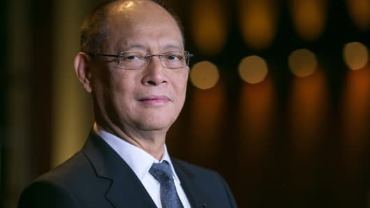 Benjamin Diokno, the newly-appointed governor of the Philippines central bank.