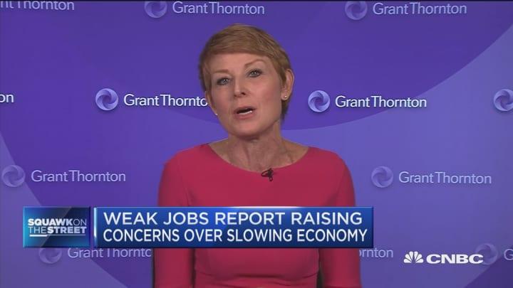 Take jobs report with grain of salt, says Grant Thornton economist