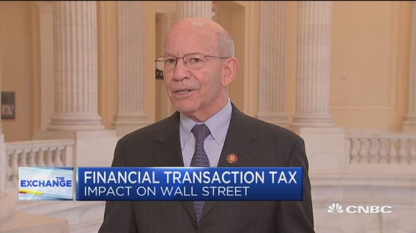 Rep. Peter DeFazio on the Tax Wall Street Act