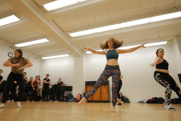 Fallon Schwurack spends around $250 a month on dance classes.