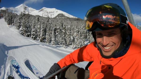 GoPro CEO Nick Woodman at Big Sky, Montana
