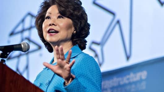 Elaine Chao, U.S. secretary of transportation.