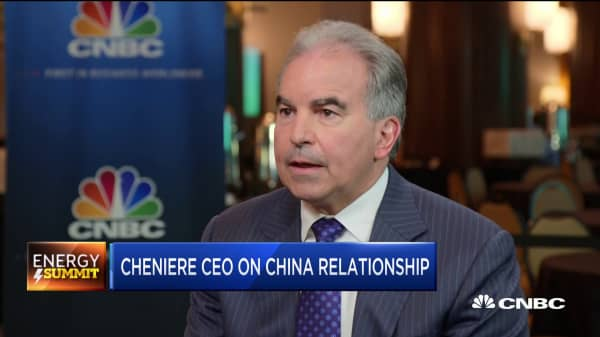 Cheniere CEO: We're dedicated to the China market