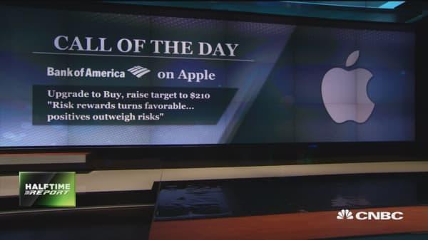 Bank of America: buy Apple