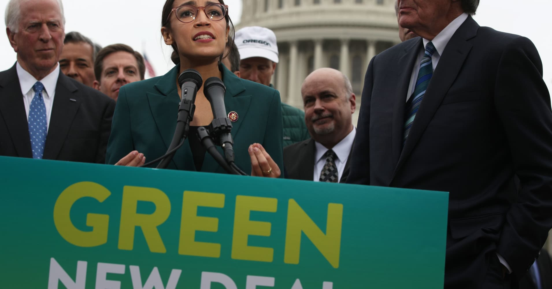 Some in GOP buck Trump, counter Green New Deal with climate plans