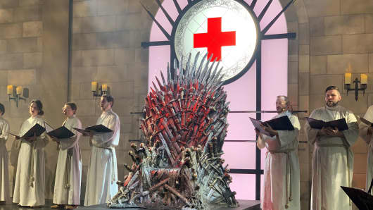 "HBO's ""Game of Thrones"" activation at SXSW 2019 was done in partnership with the Red Cross."