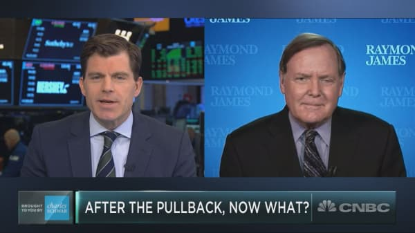 One sector is about to burn bright, says Raymond James' Jeff Saut