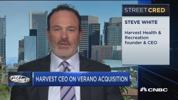 Harvest CEO reveals what his $850 pot deal with Verano means for the cannabis industry