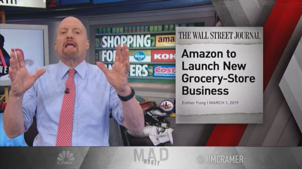 Buy Amazon and Costco, sell Kroger