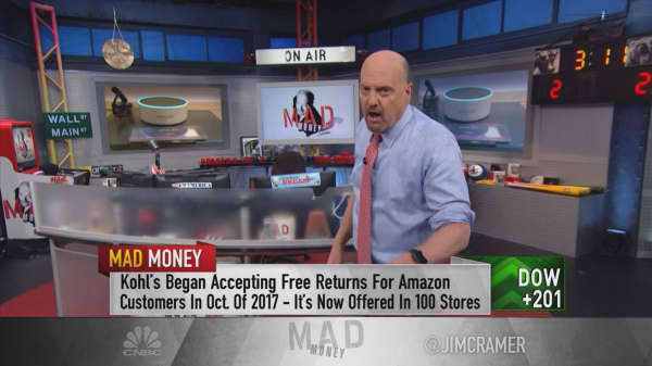 Cramer's grocery list: Buy Amazon and Costco. Sell Kroger