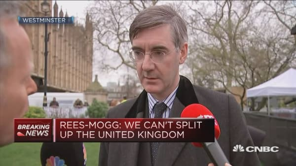 Rees-Mogg: We cannot split up the United Kingdom