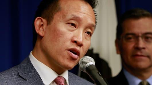 Assemblyman David Chiu, D-San Francisco