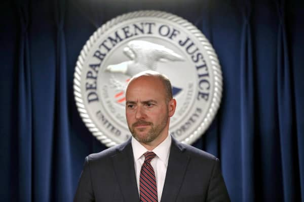 Andrew E. Lelling, the U.S. Attorney for the District of Massachusetts