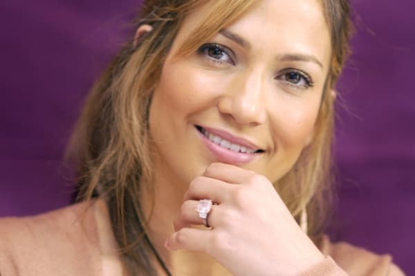 Jennifer Lopez during 'Gigli' press conference in Beverly Hills, California in July 2003.