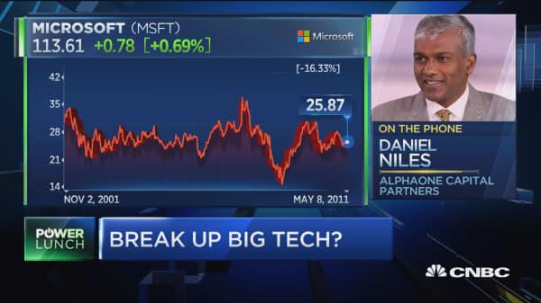 Why this expert says Sen. Warren's call to break up big tech needs work