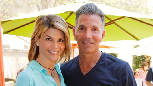 Lori Loughlin and Mossimo Giannulli.