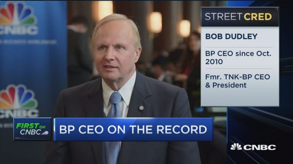 BP CEO Bob Dudley on climate change, oil production