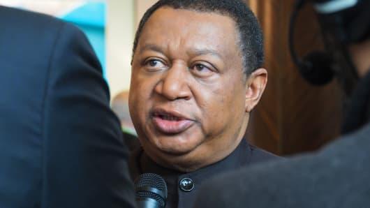 OPEC Secretary General Mohammad Barkindo