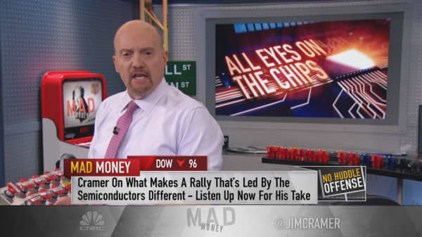 Semis showing better signs of the global economy: Cramer