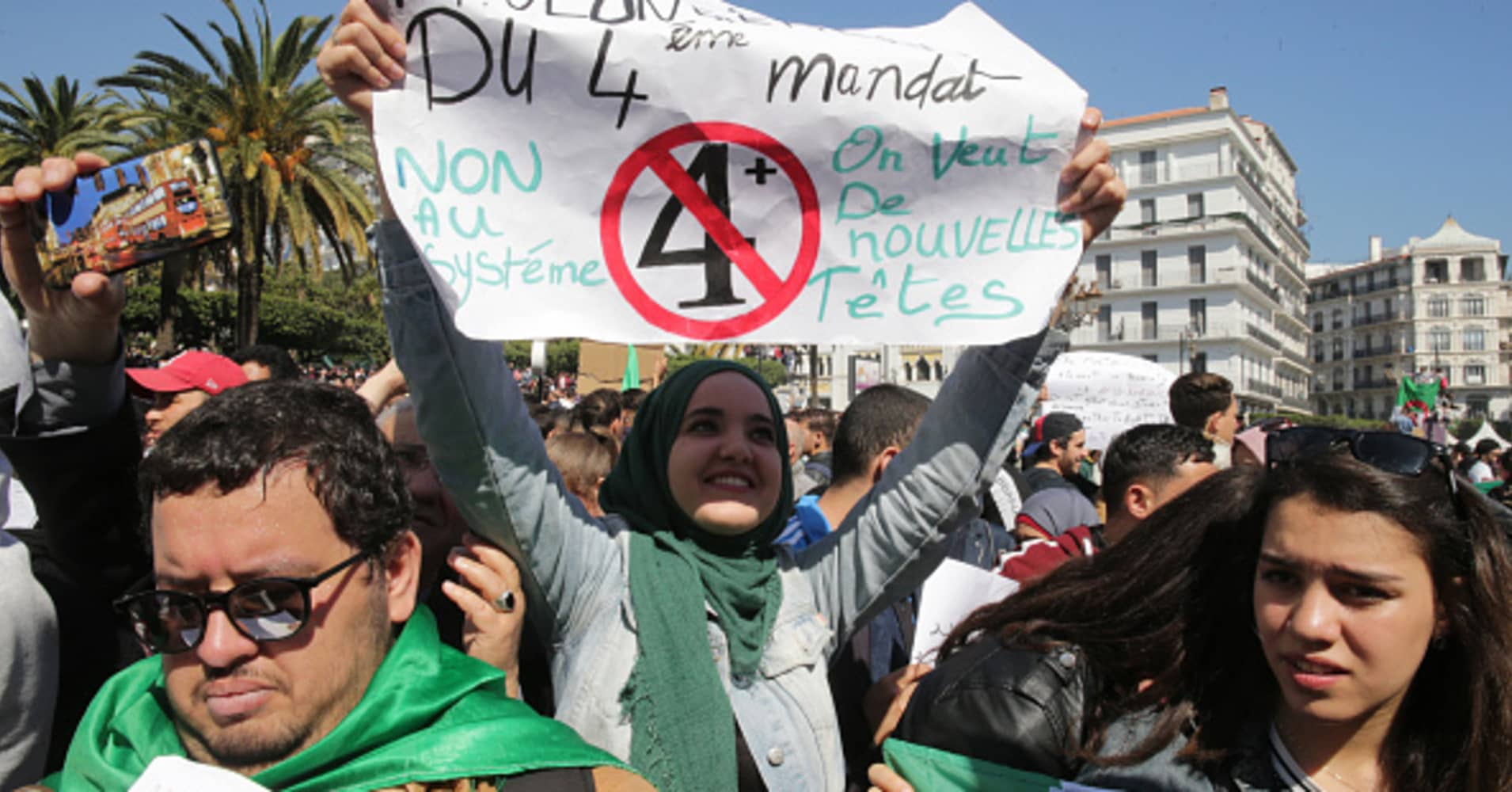 Algerian protesters win historic victory — but massive challenges remain