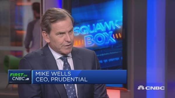 Prudential's earnings in volatile markets prove its resilience, CEO says