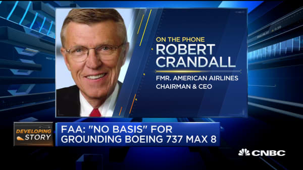 Former American Airlines CEO: If pilots say 737 Max is safe to fly, I believe it