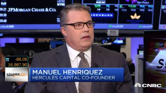 Manuel Henriquez of Hercules Capital