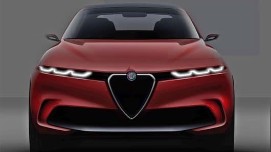 Alfa Romeo Tonale PHEV Concept car