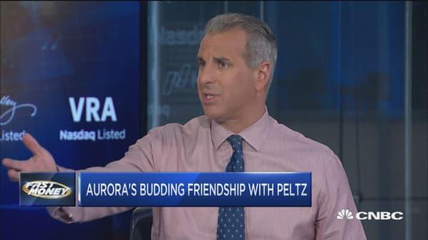 Aurora cannabis soars as Nelson Peltz joins in advisor role