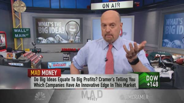 Cramer: The disrupters have been the biggest winners. CEOs take note