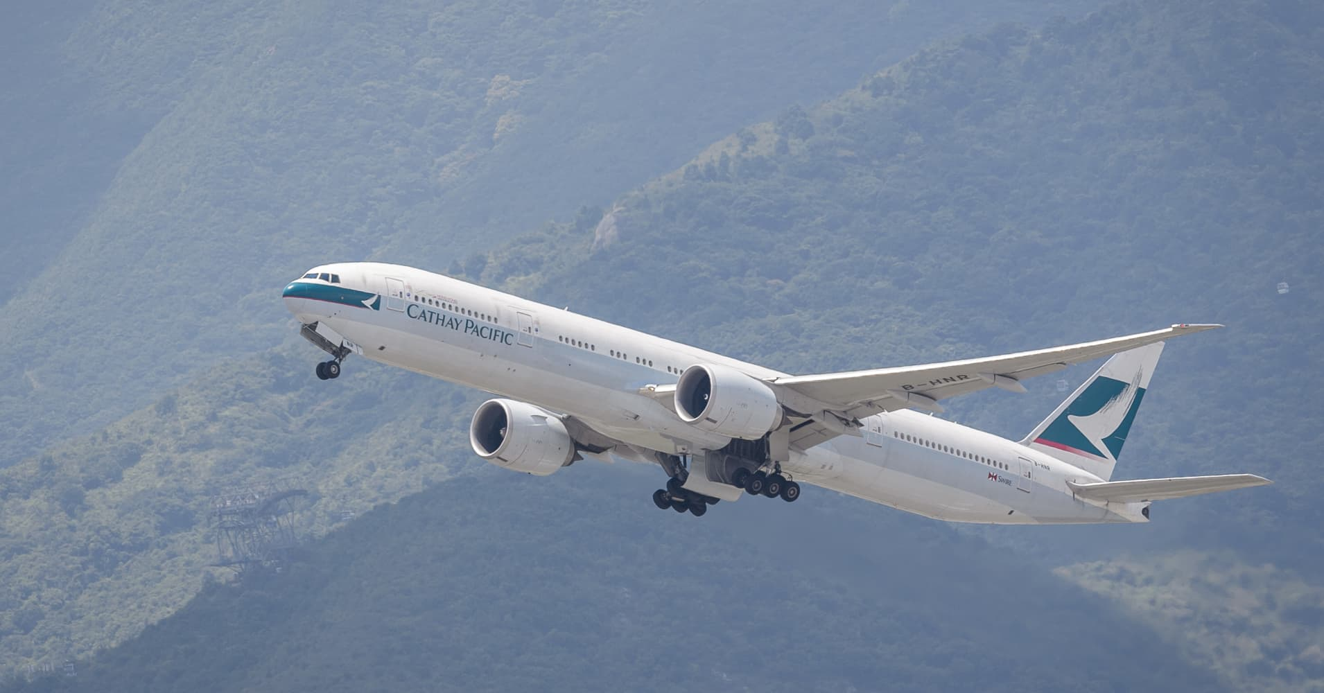 Cathay Pacific says it's 'very happy' with its Boeing fleet, despite recent 737 Max crash