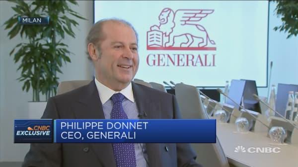 Generali will profit in any economic scenario, CEO says