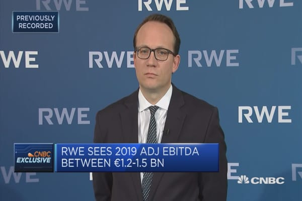 Disorderly Brexit could complicate E.On transaction, RWE CFO says
