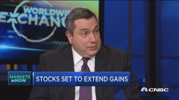 BTIG's Emanuel: There's more positive psychology building in the markets