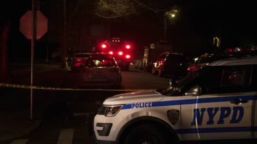 """The head of the Gambino crime family was shot and killed Wednesday on Staten Island. Francesco """"Franky Boy"""" Cali, 53, was found with multiple gunshot wounds to his body at his home just after 9 p.m."""