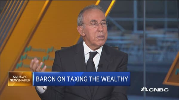 No tax system will ever be perfect, says investor Ron Baron