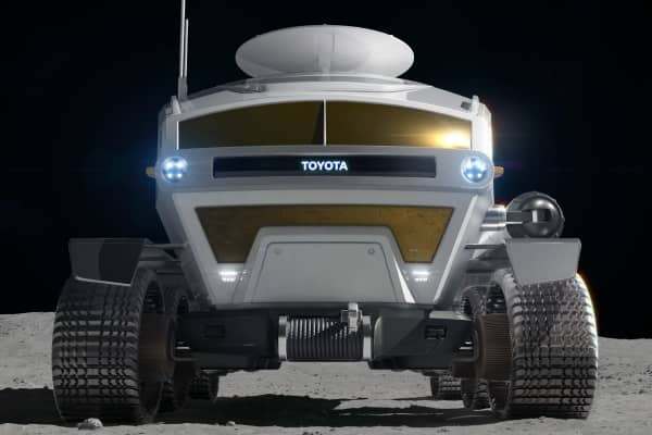 Image result for toyota jaxa moon rover