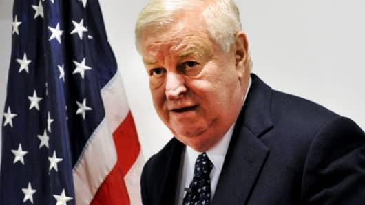 US ambassador to the UK, Louis B Susman