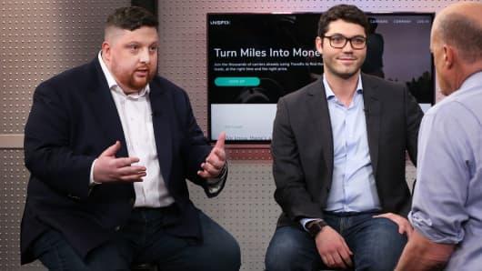 Drew McElroy, CEO, left, and Jonathan Salama, CTO, Transfix