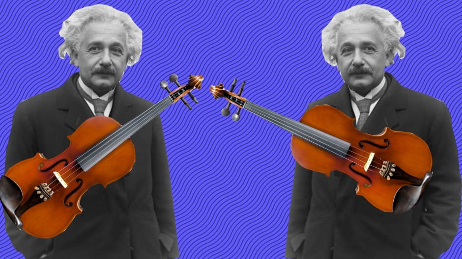 Why Einstein may not have created the theory of relativity if his mom hadn't made him play the violin