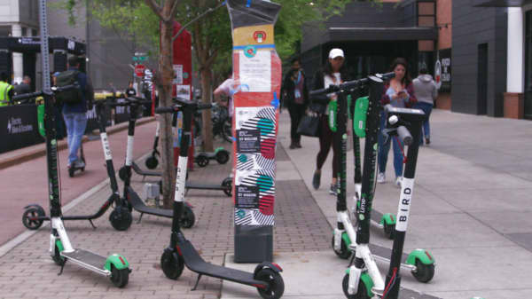 Electric Companies In Texas >> Scooters have taken over South by Southwest in Austin