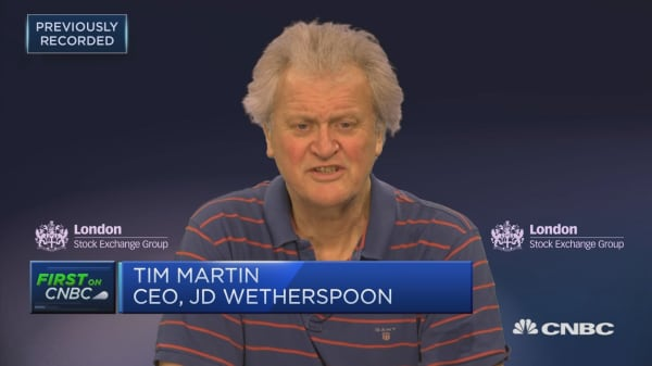 Parliament must do what it's told by the people and deliver Brexit, Wetherspoons founder says