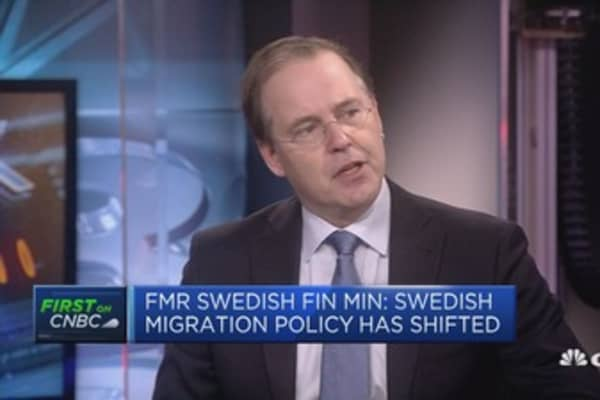 Blame for Brexit 'mess' on both UK and EU, former Swedish finance minister says