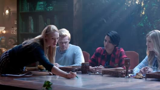 Deborah Ann Woll, Tommy Walker, Jasmine Bhullar and Julia Dennis play
