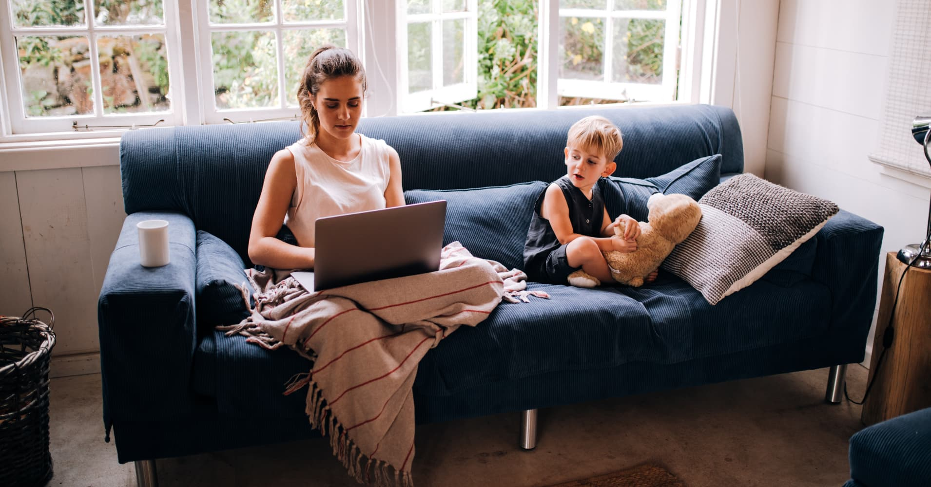 Working mom at home
